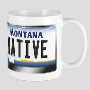 Montana License Plate - [NATIVE] Mug